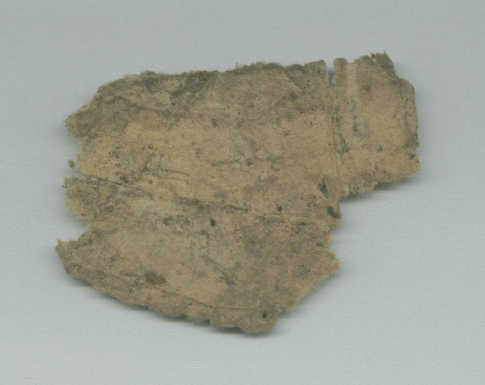 Arabic Paper Fragment - Verso