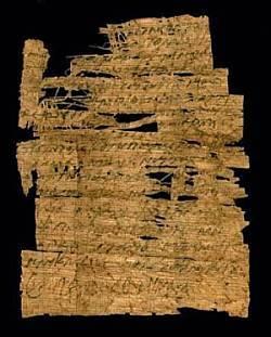 Coptic Papyus