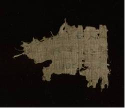 Greek Papyrus fragment - Recto