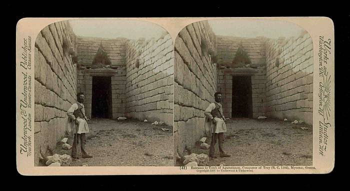 Greece - Mycenae -  Tomb of Agamemnon