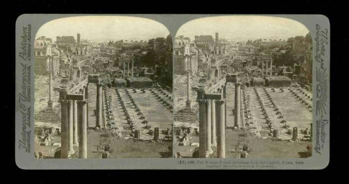 Italy - Rome - Roman Fourm